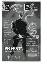 PRIEST Image Comics glossy printer's proof Z