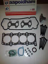 FIAT PUNTO MK2 1.2 HEAD GASKET SET HEAD BOLTS & THERMOSTAT 1242cc 8V 1999-05