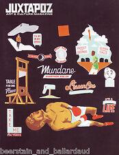 Juxtapoz Issue #83 Dec 2007 Stephen Powers Liz McGrath subscriber cover