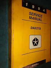 1994 DODGE DAKOTA TRUCK SHOP MANUAL / SERVICE BOOK / ORIGINAL