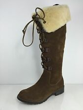 Sofft Womens Brown Leather Boots 6.5 M