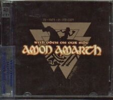AMON AMARTH WITH ODEN ON OUR SIDE SEALED 2 CD SET NEW