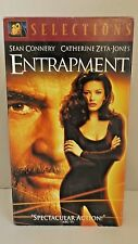 Entrapment Sean Connery Catherine Zeta-Jones (VHS, 2001, Fox Selections) VHS1-29