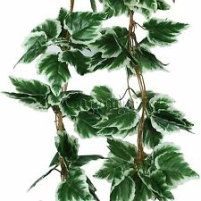 Artificial Grape Ivy Leaf Garland Hanging Plants Vine Fake Foliage Home Decor