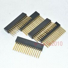 10pcs 2x15 30pin 2.54mm Double Row tall Female stackable Header For Arduino 344B