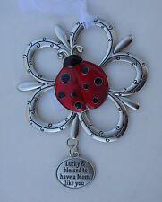 c Lucky blessed to have mom like you LOVING LITTLE LADYBUGS ORNAMENT ladybug