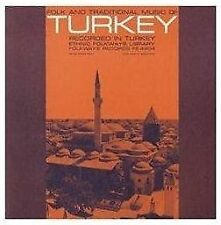 FOLK AND TRADITIONAL MUSIC OF TURKEY [USED CD]