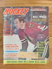 Hockey Pictorial January 1972 BILL WHITE CHICAGO BLACKHAWKS Magazine