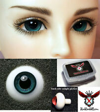 1/3 1/4 bjd 16mm dark green color high quality glass doll eyes dollfie #TS-08