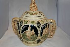 Castles on the Rhein German Punch Bowl/Wine Bowl/Tureen