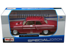 MAISTO 31957 1964 64 FORD FAIRLANE THUNDERBOLT 1/24 DIECAST MODEL CAR RED