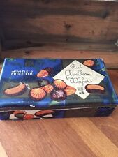 Vintage McVitie & Price Paper Covered Biscuits Tin – Rich Apeldorn Wafers –