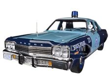 1974  DODGE MONACO PURSUIT MASSACHUSETTS STATE POLICE 1/18 AUTOWORLD AMM1023