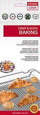 GRILLMATTE BACKMATTE ROST DAUERGRILL UNTERLAGE GRILL ANTIHAFT NEU & OVP 33x40 CM