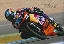 Danny KENT SIGNED Red Bull MOTO2 AUTOGRAPH 12x8 Photo AFTAL COA Genuine