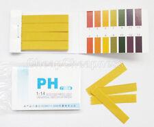 Water Testing 80 Litmus Paper Test Strips Alkaline Acid PH Indicator