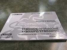 Yamaha Genuine Owners Manual 550 Grizzly 2014 550 Yamaha Grizzly Owners Manual
