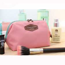 1Pc Pink Multifunction Travel Cosmetic Bag Makeup Case Pouch Toiletry Auction