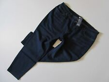 NWT Eileen Fisher Slim Ankle in Washed Indigo Organic Cotton Stretch Jeans 22W