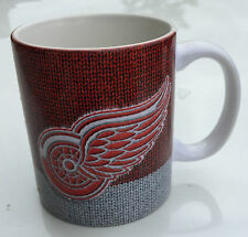 NHL Detroit Red Wings Sublimated Ceramic Woolie Coffee Cup Mustang Drinkware