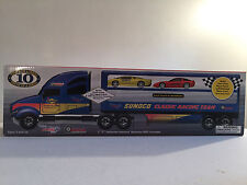 Sunoco 2003 Classic Racing Team Truck with Jaguar XJ220 & 1997 Chevy Corvette