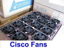 Lot of 3x New Fans for Cisco 3825 Router Replacement Fan Kit; ACS-3825-FAN-KIT