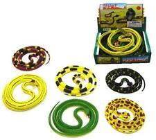 4 RUBBER 55 IN SNAKES toy snake novelty reptiles toys large relistic reptile new