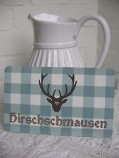 Frühstücksbrettchen * HIRSCHMAUSEN * Blümchen & KO * NEU! * Vesperbrett Teller