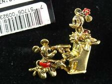 DISNEY MICKEY & MINNIE MOUSE TAC PINS, SHE SITS ON PIANO HE IS PLAYING! ORG CARD
