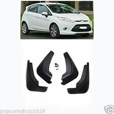 fit For Ford Fiesta hatchback 2009 - 2013 2014 2015 Mud Flaps Splash Guards 4pc