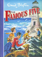 ENID BLYTON THE FAMOUS FIVE ANNUAL 2014 - HARDBACK - EXCELLENT CONDITION
