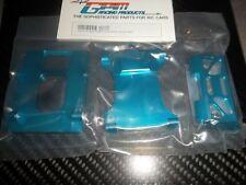 GPM MB0126 Supports de batterie aluminium bleu HPI MINIZILLA