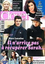 CLOSER N°514 17 AVRIL 2015  LAVOINE/ MIDDLETON/ CARAT/ JOLIE/ JENIFER/ LE PEN