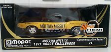Motown Missile 1971 Dodge Challenger Commemorative Series #5 Don Carlton 1:18