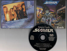 SCANNER - Terminal earth CD RARE HEAVY METAL JAPAN 1990 HEIR APPARENT GAMMA RAY
