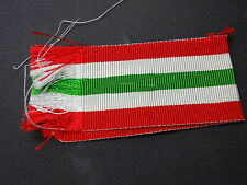 WW2 Medal Ribbon (only) for Italy Star (1943-45)