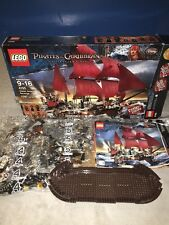Lego 4195 Queen Anne's Revenge - Pirates of the Caribbean - Blackbeard - NEW 95%