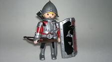 Playmobil Medievale Cavaliere con Spada y scudo,, Soldati, Guerriero con Arco