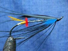Classic flie for Atlantic salmon fly fishing - Night Hawk feather wing #1/0
