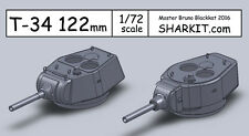 T-34 122mm Turrets - 1/72 - 122mm turrets project  - resin -