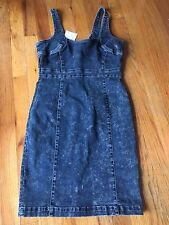 "VINTAGE ""GUESS"" denim dress, Women's Size M- NWT-- PERFECT GIFT FOR THE HOLIDAYS"