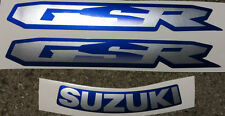 Adesivi Suzuki GSR Blu 600 2008 - adesivi/adhesives/stickers/decal