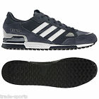 adidas S MENS ZX 750 UK DIMENSIONE 7 8 9 10 11 SCARPE TRAINERS DA RUNNING BLU