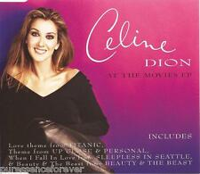 CELINE DION - At The Movies EP (UK 4 Track CD Single)