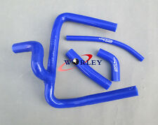 Fit Honda CR250 CR250R CR 250 2002 02 silicone radiator hose Kit 2 strokes