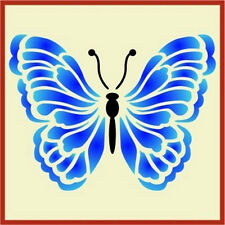 BUTTERFLY 1  STENCIL - NEW! - The Artful Stencil
