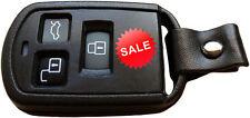 3 button remote fob case shell & rubber for Hyundai accent sonata gs300 gs350