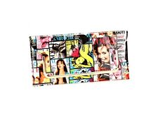 Multi Color Vogue Magazine Cover Collage Clutch Bag ~ Style B