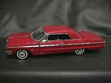 SALE  West Coast Precision Diecast 1964 Chevy SS Impala Coupe in Ember Red WCPD