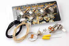 "SG Wiring Kit fits Gibson® /CTS ""TVT"" Shortshaft Pots"